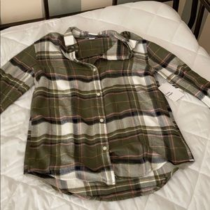 Old Navy Plaid long sleeve